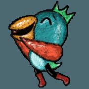 สติ๊กเกอร์ไลน์ หวีหก นกสำหรับคุณ! (เคลื่อนไหว ดุ๊กดิ๊ก)