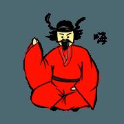 สติ๊กเกอร์ไลน์ Zhong Kui's life