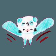 สติ๊กเกอร์ไลน์ Panda-chan's easy dayry talk sticker