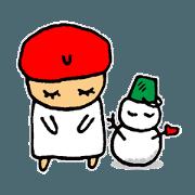 สติ๊กเกอร์ไลน์ HIKARI-chan1