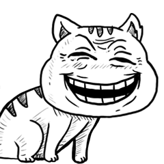 Ugly Tabby Cat