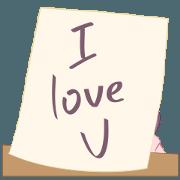 สติ๊กเกอร์ไลน์ My Note