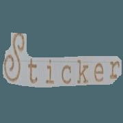 สติ๊กเกอร์ไลน์ Stamp character+cat