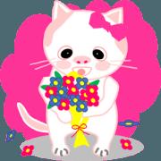 สติ๊กเกอร์ไลน์ Playful kittens