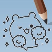 สติ๊กเกอร์ไลน์ Sketch! Pencil Bear
