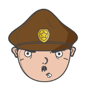 สติ๊กเกอร์ไลน์ The Funny Police