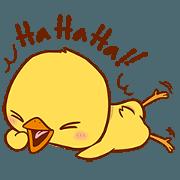 สติ๊กเกอร์ไลน์ Yellow Chick : Random