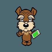 สติ๊กเกอร์ไลน์ COCO dog