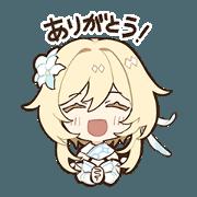 สติ๊กเกอร์ไลน์ Genshin Impact Sticker Vol.2