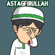 สติ๊กเกอร์ไลน์ Kanjeng Ramadhan : Fasting 2