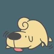 สติ๊กเกอร์ไลน์ Reliable DogDog (EN)