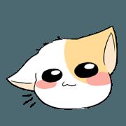 สติ๊กเกอร์ไลน์ Cat Oh