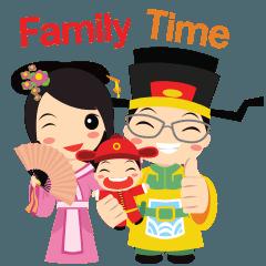 สติ๊กเกอร์ไลน์ Family Time