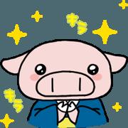 สติ๊กเกอร์ไลน์ Komenoko-chan Animetion Sticker