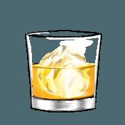 สติ๊กเกอร์ไลน์ One more drink
