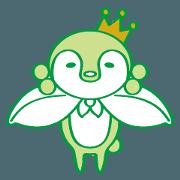 สติ๊กเกอร์ไลน์ Gardening emperor pen green
