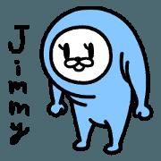 สติ๊กเกอร์ไลน์ Jimmy-san