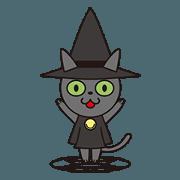 สติ๊กเกอร์ไลน์ Magicat Animation Stickers 1