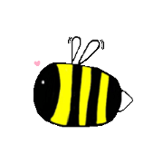 สติ๊กเกอร์ไลน์ tender bee in your heart