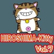 สติ๊กเกอร์ไลน์ HIROSHIMA-Kitty Vol.7
