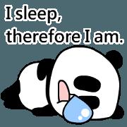 สติ๊กเกอร์ไลน์ sleepan (English)
