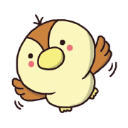 สติ๊กเกอร์ไลน์ sparrow-chan