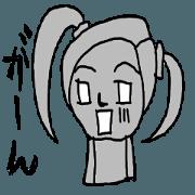สติ๊กเกอร์ไลน์ anime characters action