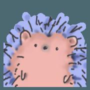 สติ๊กเกอร์ไลน์ I am a hedgehog!