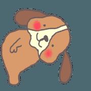 สติ๊กเกอร์ไลน์ wan-wanko(thank you, and sorry)part1