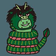 สติ๊กเกอร์ไลน์ Shimane's Nessan (Iwami dialect)