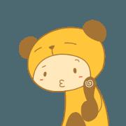สติ๊กเกอร์ไลน์ BearChipmunk