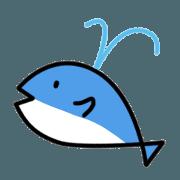 สติ๊กเกอร์ไลน์ Baby Dolphin