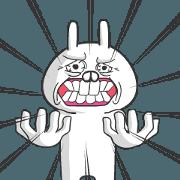 สติ๊กเกอร์ไลน์ Usaki Animated!