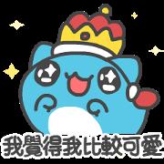 สติ๊กเกอร์ไลน์ BugCat-Capoo: The Cute King