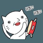 สติ๊กเกอร์ไลน์ แมวความเร็วสูง-เวอร์ชั่นตลก