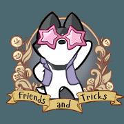 สติ๊กเกอร์ไลน์ Tayga the Husky - Animated