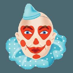 สติ๊กเกอร์ไลน์ Simone The Clown