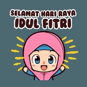 สติ๊กเกอร์ไลน์ Happy Eid Day! Animated