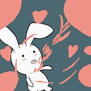 สติ๊กเกอร์ไลน์ Go Bunny Go 2