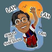 สติ๊กเกอร์ไลน์ Animation Student Sticker