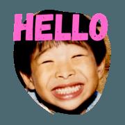 สติ๊กเกอร์ไลน์ childhood cute Koji