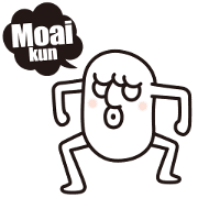 สติ๊กเกอร์ไลน์ DK Moving Moaikun Sticker