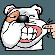 สติ๊กเกอร์ไลน์ Ceza Bulldog & The Gang DukDik