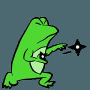 สติ๊กเกอร์ไลน์ Frog U-doku 15