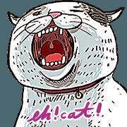 สติ๊กเกอร์ไลน์ eh!cat!4