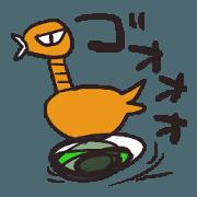 สติ๊กเกอร์ไลน์ YUZi BOX Sticker B