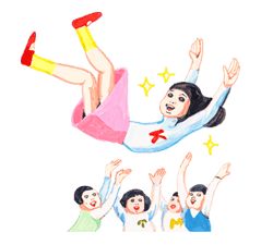 Keiko Sootome's New Greetings sticker #27473
