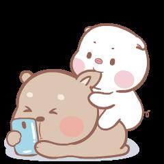 แม่หมูกับพ่อหมี ดุ๊กดิ๊ก