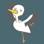 สติ๊กเกอร์ไลน์ Happy Bird Dodo
