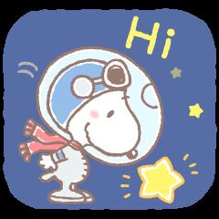 สนูปี้ นักบินอวกาศผู้น่ารัก